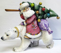 Polar Bear and Santa II