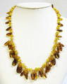 Butterscotch and Honey Amber Necklace