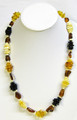 Baltic Amber Necklace in Four Colors