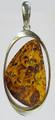 Beautiful Honey Amber Pendant