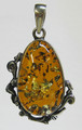 Cognac Amber Pendant