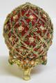 Rose Trellis Faberge Style Egg