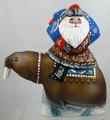 Santa with a Walrus