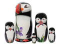Puffin Matryoshka w/ 3D Beak
