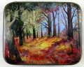 Autumn in the Forest | Fedoskino Lacquer Box
