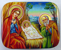 Holy Family by Sidorova | Fedoskino Russian Lacquer Box