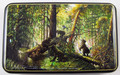 Morning in the Pine Woods by Smirnova | Fedoskino Lacquer Box