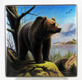 Grizzly by Danshin | Russian Lacquer Box