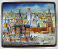 Moscow Winter Day | Russian Lacquer Box - SOLD