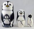 Penguin 3pc Matryoshka