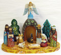 Nativity Scene Set by Shestobatova