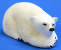 Polar Bear Relaxing Textured by James Uglowook (Yupik)