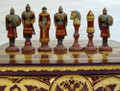 Russian Army and Mongols Chess Set