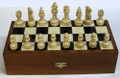 Mammoth Ivory Chess Set