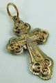 14KT Gold Orthodox Cross