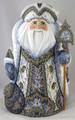 Magical Season  Russian Santa - White and Silver Coat