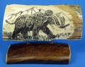 Mammoth Scrimshaw by George Vukson