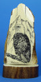 Mammoth Ivory Scrimshaw by George Vukson - Eagle