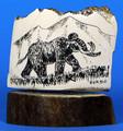 Mammoth by George Vukson | Scrimshaw