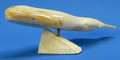 Whale by Charles Slwooko | Alaskan Ivory Carving
