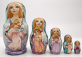 Evening Angels | Unique Museum Quality Matryoshka Doll