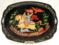 Ivan Tsarevitch and the Grey Wolf Tray | Zhostovo Tray