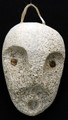 Small Spirit Mask II | Alaska Whalebone / Fur Mask