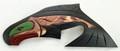 Salmon by Les Harper - Small | Northwest Coast Totemic Art