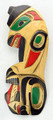 Bear with Salmon by George Matilpi  | Northwest Coast Totemic Art
