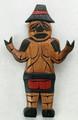 Welcome Man by Dora Edwards | Northwest Coast Totemic Art
