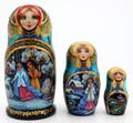 3 Piece Snegurochka | Fine Art Matryoshka Nesting Doll