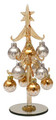 Champagne Ornament Tree - Gold and Silver