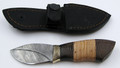 Russian Mini Skinner Damascus Knife