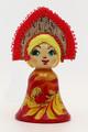 Maiden in Kokoshnik | Russian Christmas Ornament