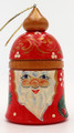Santa Bell | Russian Christmas Ornament