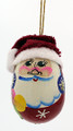 Santa with Hat | Russian Christmas Ornament
