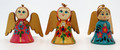 Angel Of Joy Christmas Ornament - Set of 3