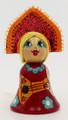 Girl in Kokoshnik   Russian Christmas Ornament