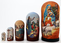 Holy Night Nativity Matryoshka