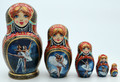 """Swan Lake"" Matryoshka 5 Piece"