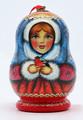 Snegurochka with Bird Christmas Ornament