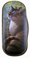 Russian Painted Eyeglass Case - Cat