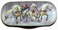 Russian Painted Eyeglass Case - Troika