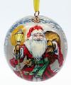Santa and Snowmaiden Ornament