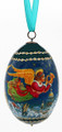 Christmas Angels Egg Ornament