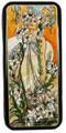 Lilies - Copy of Alphonse Mucha  | Russian Lacquer Box