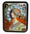Zodiac - Copy of Alphonse Mucha  - SOLD