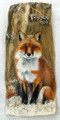 Painted Driftwood  - Little Fox