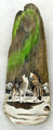 Painted Driftwood  - Howling Wolves