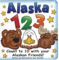 Alaska 1 2 3  Board Book